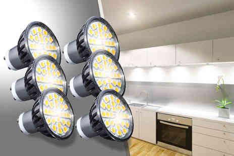 Light My Life - Three GU10 LED spotlights - Save 42%