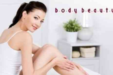 Body Beauty - Full Leg and Underarm Wax - Save 60%