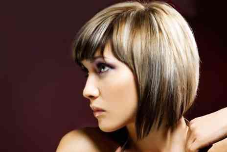 The Strand - Cut and Blow Dry With Half Head Highlights Plus Conditioning  - Save 57%