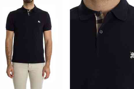Intriangle Solutions - Burberry Polo Shirt in Black Special Offer - Save 48%