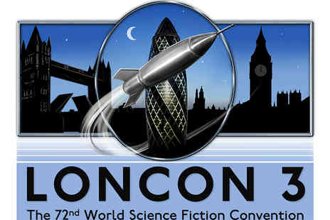 Loncon 3 - Hall Pass to Loncon 3 Science Fiction Convention for One Person - Save 20%