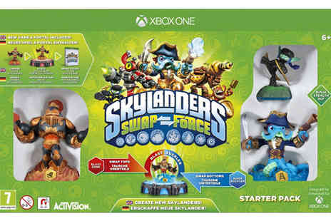 Click For Games - Skylanders Swapforce Wii Swap Force Starter Pack - Save 47%