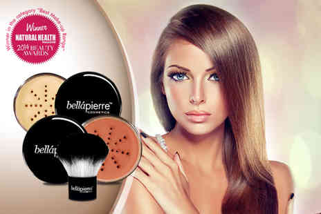 Bellapierre Cosmetics Europe - Three piece mineral makeup set - Save 75%
