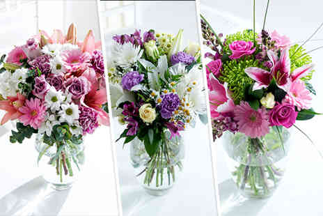 Flowers Direct - £40 voucher to spend on your choice of bouquet - Save 50%