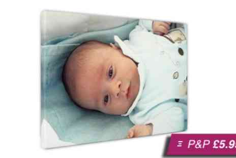 Your Image On Canvas -  A2 personalised canvas print - Save 90%