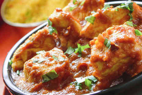 India Gates Restaurant - Starter Main Course, and Glass of Beer Each for Two - Save 56%