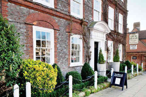 The Old House Hotel - Overnight Stay for Two with Full English Breakfast  - Save 51%