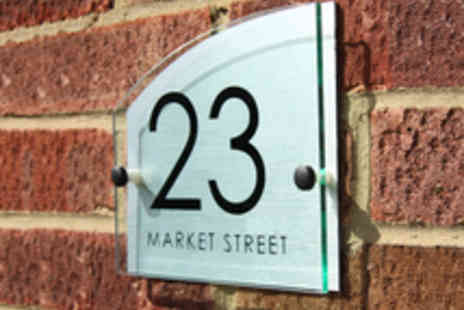 City House Signs - Personalised House Sign  - Save 50%