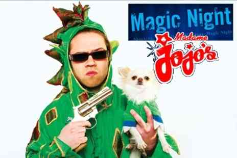 Magic Night - Entry For Two People to Magic Night With Comedy and Cabaret for £10.80 - Save 55%