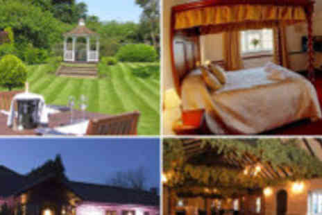 The Blazing Donkey Country Hotel - Two night Kent escape for two - Save 71%