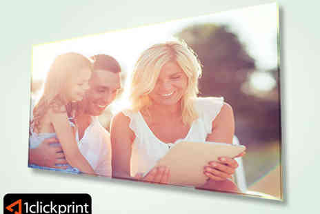 1 Click Print - 8 x 8 Inch Acrylic Photo Print - Save 72%