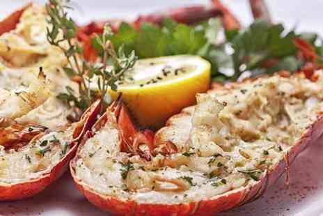 The Cabin Restaurant - Lobster Meal For Two - Save 0%