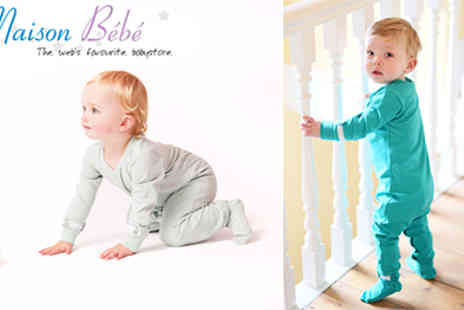 Maison Bebe - Set of 2 Unique Grow with your baby, Adjustable Sleepsuits - Save 50%