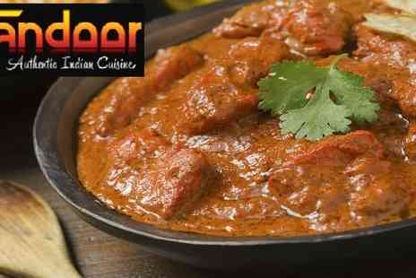 Tandoor South Indian Restaurant - Authentic Indian dishes  - Save 50%