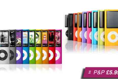 Marcus Accessories - 4th generation MP3/MP4 player in a choice of colours - Save 78%