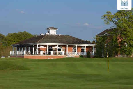 De Vere Mottram Hall - 18 Holes of Golf with 25 Range Balls Each for Two  - Save 79%