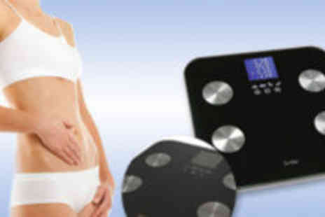 DAPW - Luxury Bathroom Scales with LED Quartz Body Fat Analyser - Save 67%