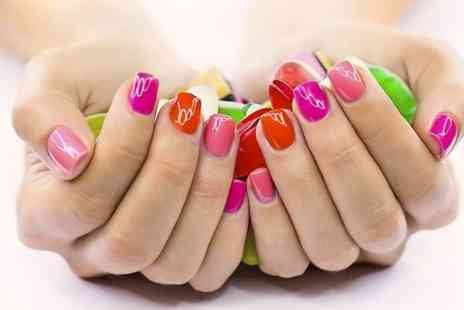 In 2 Holistic - Gelish Manicure or Pedicure - Save 73%