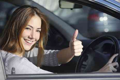 Happy Hour Driving School - Three Beginner Lessons  - Save 69%