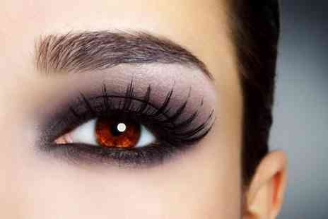 Pretty Hair & Beauty - Eyelash extensions including a brow tint  - Save 60%
