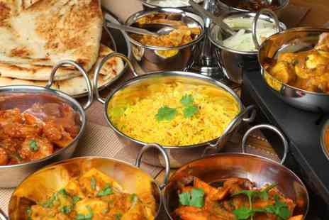 Fiery Feast - Indian takeaway for 2 people - Save 60%