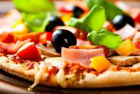 Due Fratelli - Two course Italian meal for 2 including a starter and pizza - Save 59%