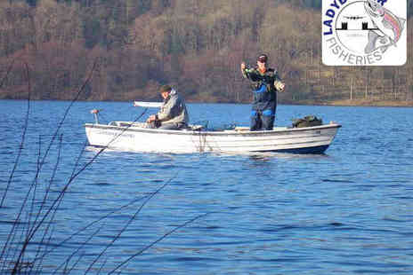 Ladybower Fisheries - Half Day Fly Fishing Experience for Two  - Save 51%