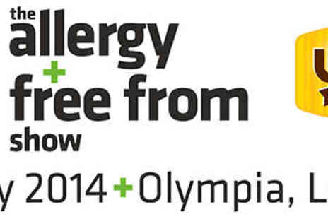 The Allergy & Free From Show - Two Tickets to The Allergy & Free From Show - Save 41%