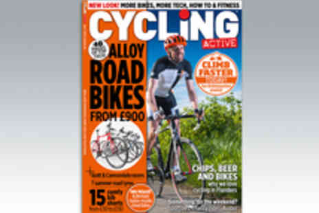 IPC Media - 12 Month Subscription to Cycling Active Magazine - Save 10%