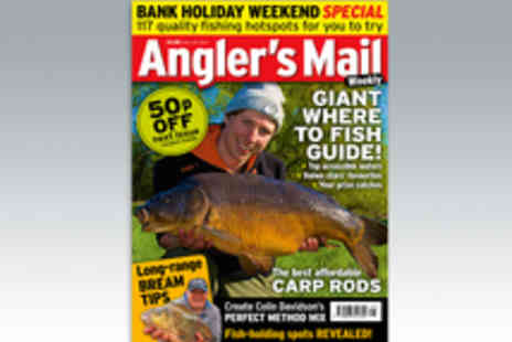 IPC Media - 51 Issue Subscription to Anglers Mail Weekly Magazine - Save 3%