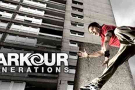 Parkour Generations - Three Outdoor Parkour Classes - Save 53%
