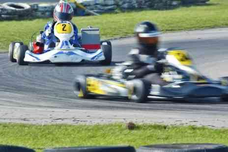 West country karting - 80 laps of outdoor karting circuit for one  - Save 75%