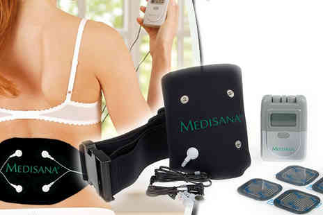 MedHealthCare - Miraculous TENS Back Therapy System - Save 80%