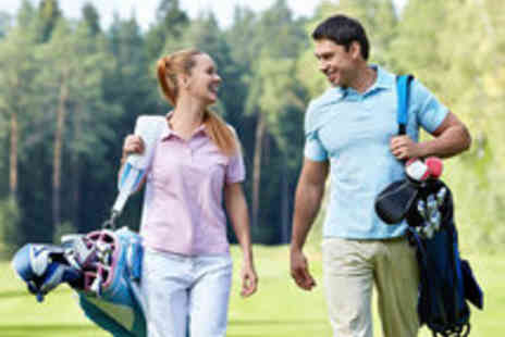 Tilgate Forest Golf Centre - Round of Golf, 100 Range Balls and a Hot Drink for Two - Save 56%