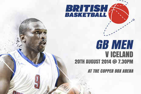 British Basketball - Tickets to Great Britain Mens Basketball v Iceland - Save 55%