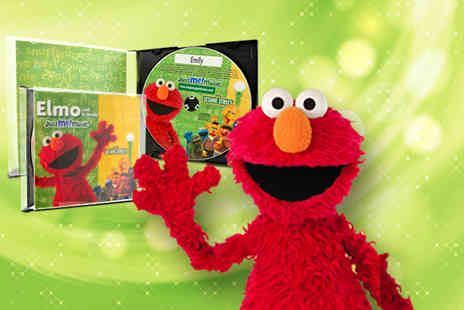 Sing Along With Elmo - Personalised Sing Along  - Save 50%