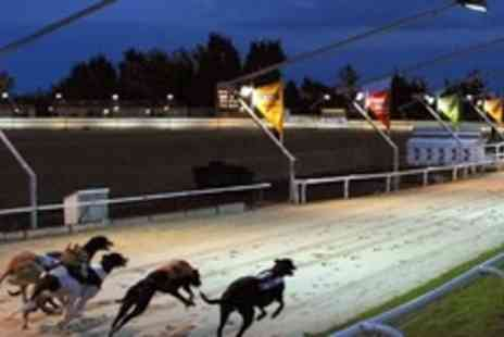 Coral Romford Greyhound - Dog Racing Entry For Two With Basket Meal and Drink Each, Plus Race Cards - Save 66%