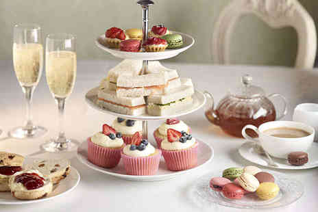Royal Bath Hotel - Afternoon Tea with a Glass of Sparkling Wine for Two  - Save 54%