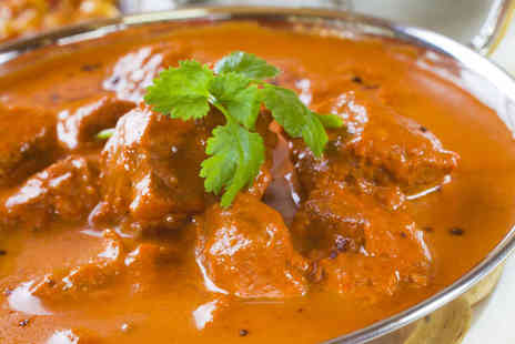 Zinzar - Two Course Indian Meal for Two - Save 57%