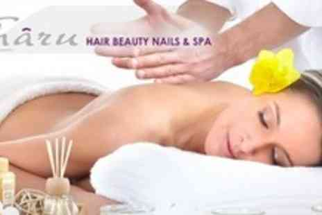 Charu Hair Beauty Nails & Spa - Silver Spa Package With Swedish or Aromatherapy Massage Facial - Save 73%