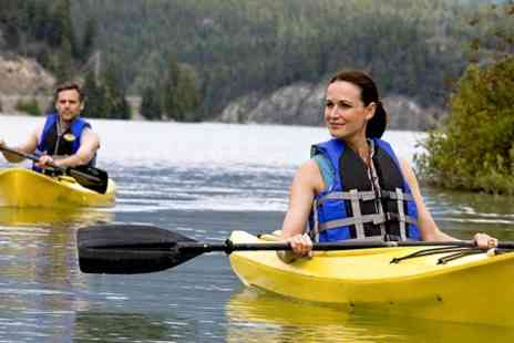 Allout Adventures - Kayaking on The River Derwent For One  - Save 60%