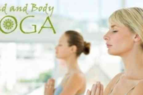 Mind and Body Yoga - Ten 60 Minute Yoga Sessions - Save 70%