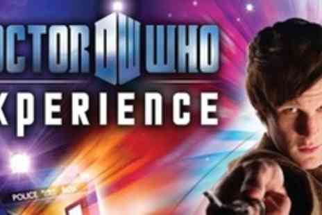 Doctor Who Experience - One Child Ticket - Save 50%