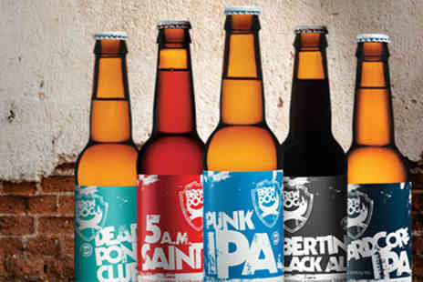 BrewDog - Brew Dog craft beer and cheese tasting experience for 2  - Save 50%