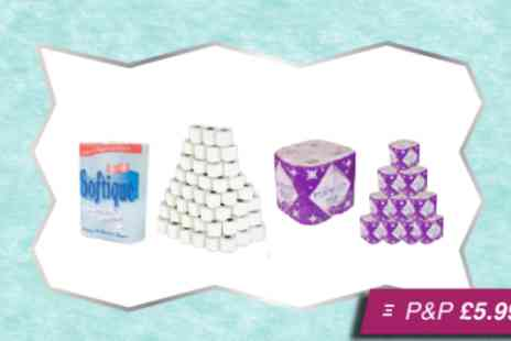 Silver Fishes - Bumper bundle of kitchen and toilet rolls - Save 50%