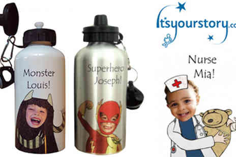 Itsyourstory - Personalised Water Bottles - Save 50%