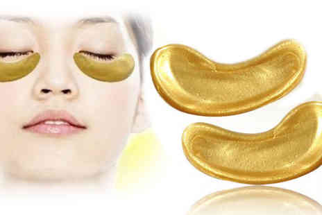Eggsnog - 20 Pack of Gold Bio Collagen Eye Masks - Save 94%