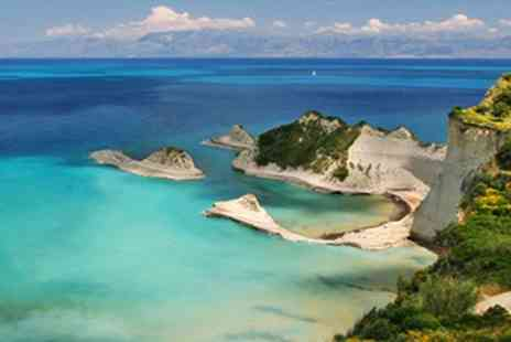 Apraos Bay Hotel - Seven nights stay in Corfu including return flights plus breakfast - Save 38%