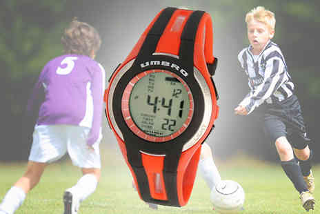 Jazzydeals - Umbro Junior Digital Watch - Save 64%