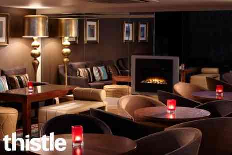 Thistle Hotel Plc - Sparkling afternoon tea for 2  - Save 52%